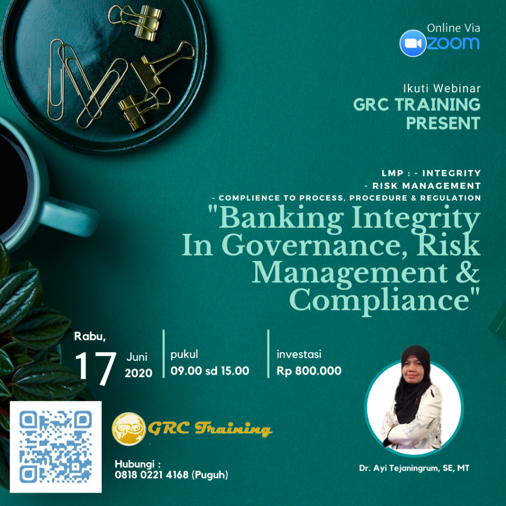 Online Training Banking Integrity In Governance, Risk & Compliance