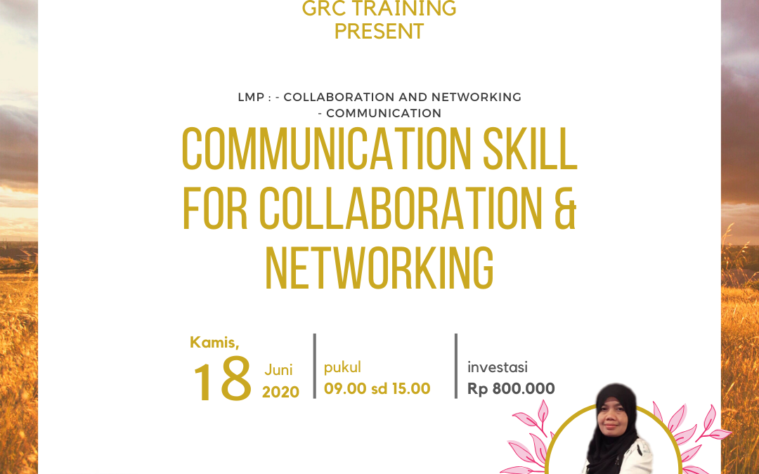 Online Training : Communication Skill for Collaboration & Networking