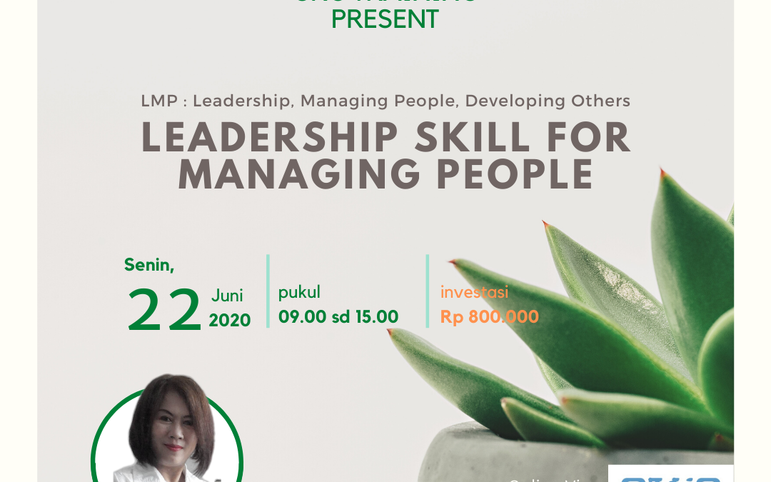 Online Training : Leadership Skill for Managing People